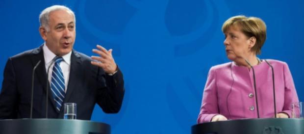 Angela Merkel ferme avec Benjamin Netanyahu