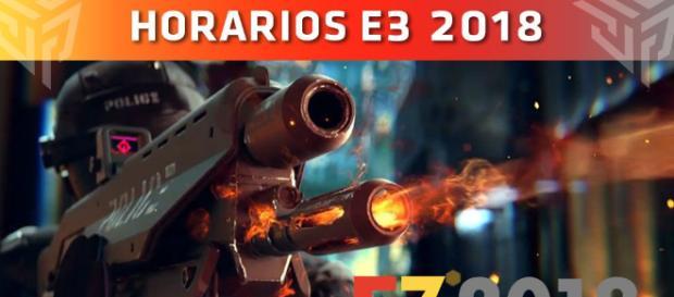 E3 2018, Calendario de conferencias: Horarios confirmados
