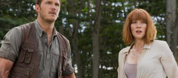 El calzado de la actriz fue uno de los puntos más criticados de 'Jurassic World'