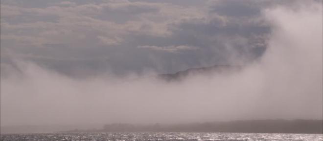 La fotoquímica interfacial es una fuente global de vapores y aerosoles en el Mar