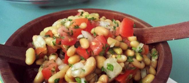 Deliciosas recetas caseras de ensaladas con judías
