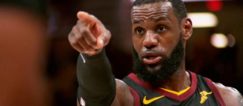 LeBron is hoping for some more help from his teammates beyond Kevin Love for Game 3 of the NBA Finals. - [Image via NBA / YouTube screencap]