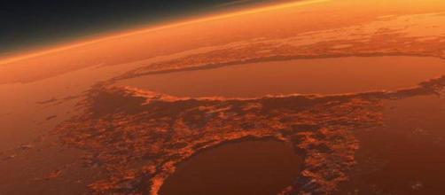 Il rover Opportunity è a rischio per una violenta tempesta di sabbia su Marte.