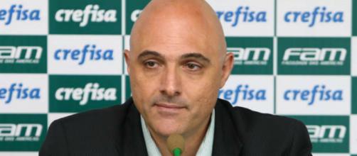 Maurício Galiotte, presidente do Palmeiras.
