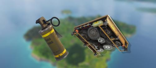 "New trap and new grenade are coming to ""Fortnite Battle Royale."" Image Credit: Own work"