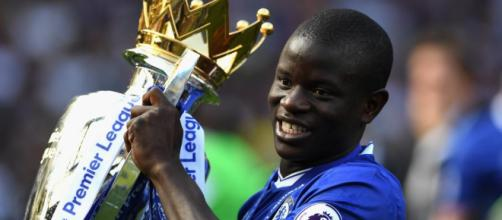 N'Golo Kanté, surveillé par le Paris Saint-Germain.