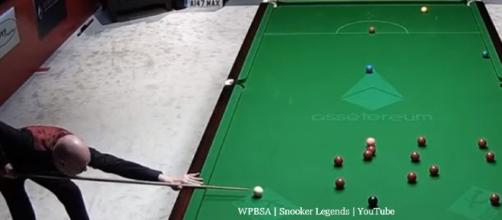 Snooker World Seniors Tour - Image credit - WPBSA | Snooker Legends | YouTube