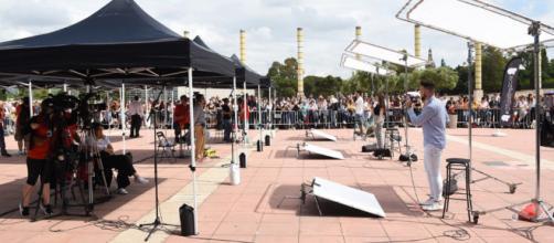 Miles de personas acuden al casting de Operación Triunfo