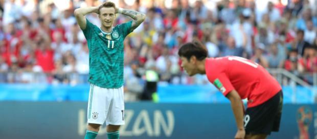 Alemanha cai na primeira fase do mundial.