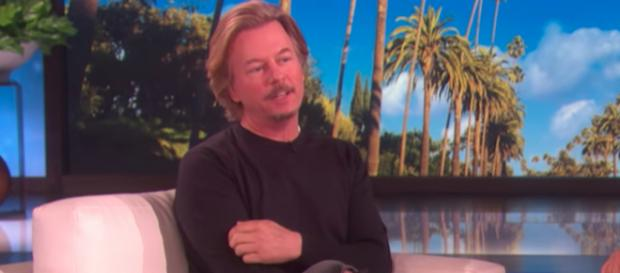David Spade posted several tributes to sister-in-law Kate Spade on social media. [Image via TheEllenShow/YouTube]