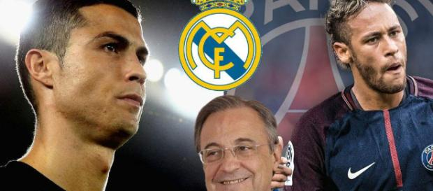 Florentino Pérez quiere acelerar el fichaje de Neymar