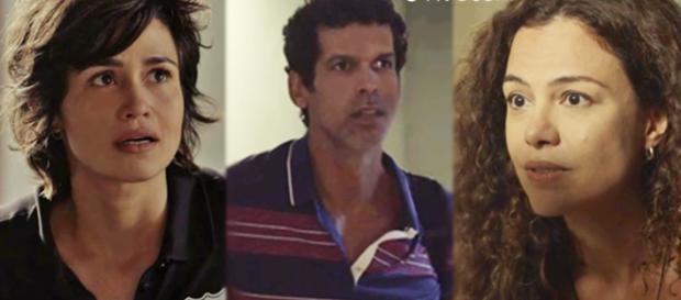 Lourival morre após descobrir caso de Selma com Maura em Segundo Sol (Foto: TV Globo)