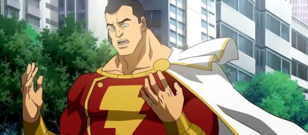 The 'Shazam!' movie may feature a different version of the classic costume fans are used to seeing. [Image via Superhero Movie Clip/YouTube]
