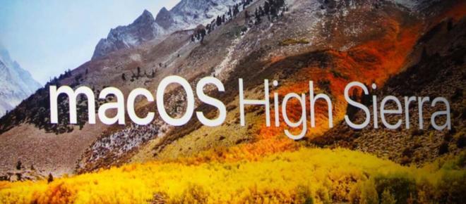 25 de Speptiembre: Fecha de lanzamiento de macOS High Sierra