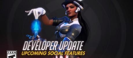 Developer Update   Upcoming Social Features   Overwatch [Image Credit: PlayOverwatch/YouTube screencap]