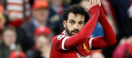 Mohamed Salah es vinculado con el FC Barcelona