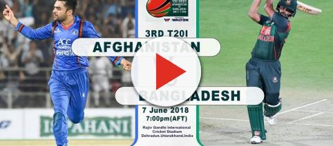 Bangladesh vs Afghanistan 3rd T20 live streaming: [Image Credit: Afghanistan Cricket Board/Twitter]