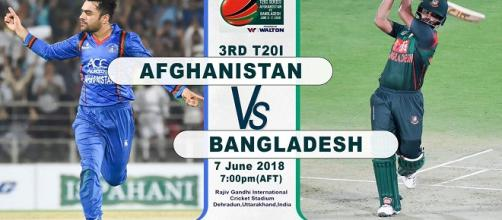 Bangladesh vs Afghanistan 3rd T20 live streaming: [Image Credit: Afghanistan Cricket Board/Twitter]