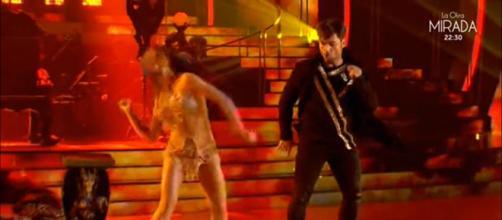 El anillo de David Bustamante y Yana en bailando con las estrellas