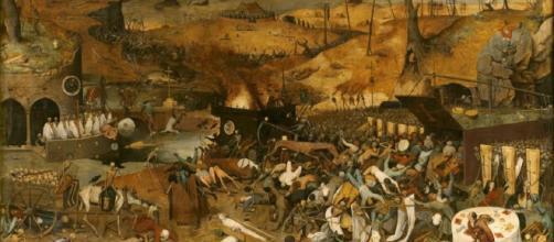 El triunfo de la Muerte 1562 - 1563. Óleo sobre tabla, 117 x 162 ... - pinterest.es