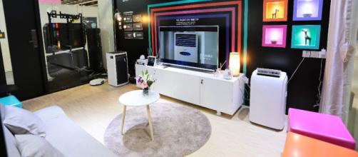 La Smart Home Experience Zone di Tuya
