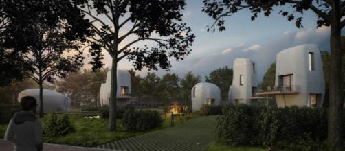 Netherlands to host small community of 3D-printed houses - CNN Style - cnn.com