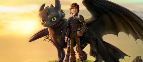Póster de Cómo entrenar a tu dragón 3