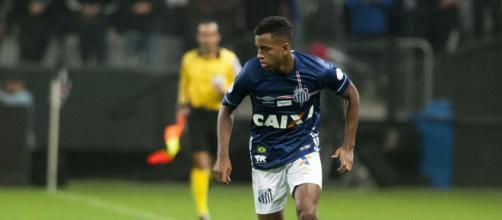 Rodrygo é um dos principais jogadores do Santos