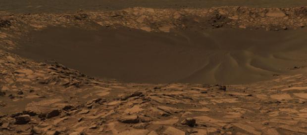 Scoperte molecole organiche sul pianeta Marte.