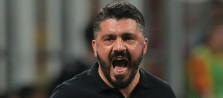 La carica di Gennaro Gattuso - Milan