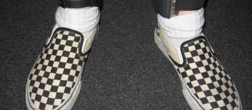 An example of a house arrest ankle bracelet. - [Image via reverendlukewarm / Flickr]