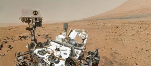 Marte: il rover Curiosity trova tracce di molecole organiche nell'atmosfera