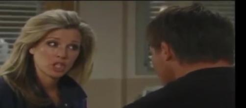 Jason does not want Carlyto go to Shadybrook on 'General Hospital.' - [Image via Robin's dead / YouTube screencap]