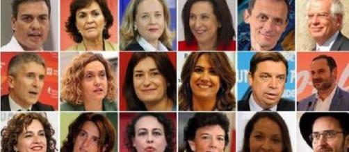 España es el país con mayor proporción de mujeres en sus ministerios