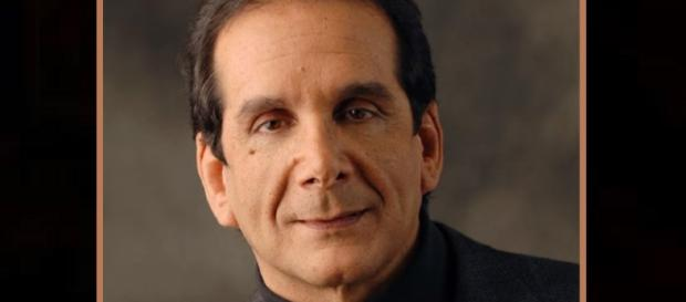 Charles Krauthammer reveals to fans that he has only weeks to live. [image source: USA Today - YouTube]