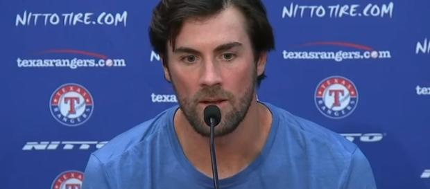 Cole Hamels interview. - [FOX Sports Southwest / YouTube screencap]