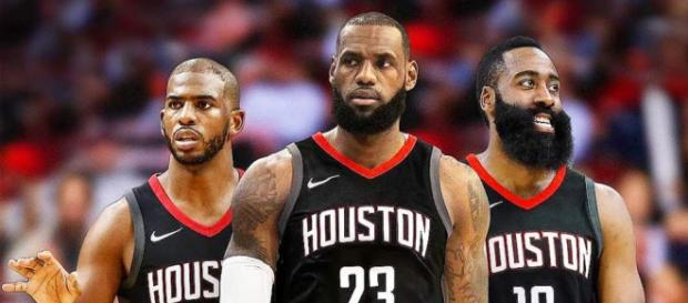 LeBron, Paul, Harden. / [NBA / YouTube screencap]