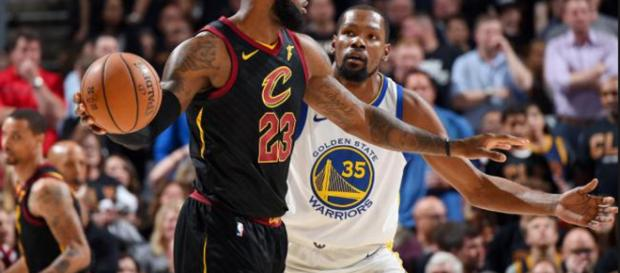 Kevin Durant thinks Lebron would not accept MVP title if the Cavs lose.