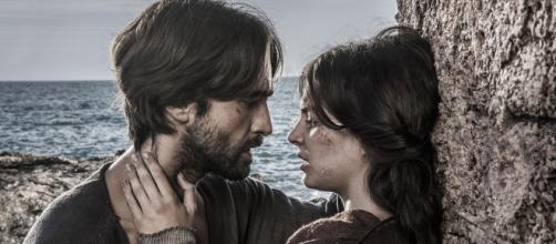 """La Catedral del Mar: La desgracia y el amor se unen, """"Arnau y Aledis"""""""