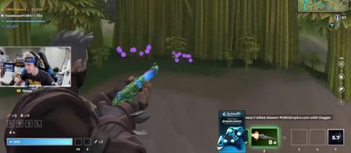 Ninja playing 'Realm Royale.' - [Ninja / YouTube screencap]
