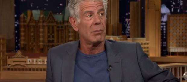 Anthony Bourdain interview. - [The Tonight Show Starring Jimmy Fallon / YouTube screencap]