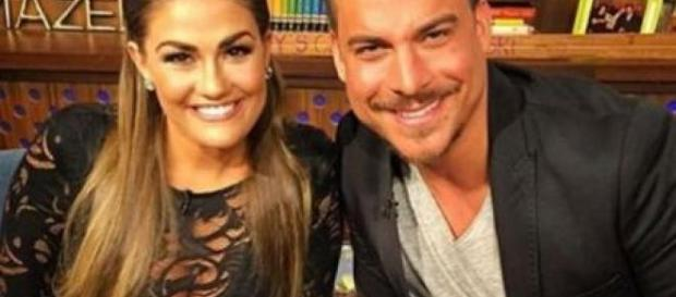 Brittany Cartwright and Jax Taylor appear on 'Watch What Happens Live.' - [Photo via Instagram]