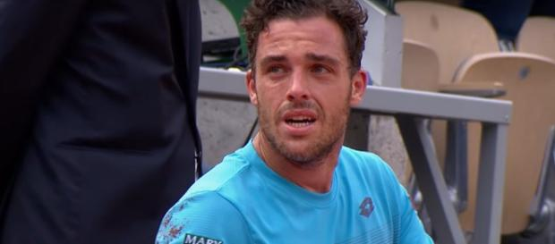 Il tennista palermitano Cecchinato