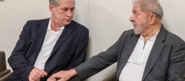 Lula e Ciro trabalharam juntos.