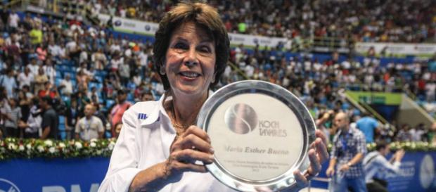 Mundo do esporte presta tributo a Maria Esther Bueno