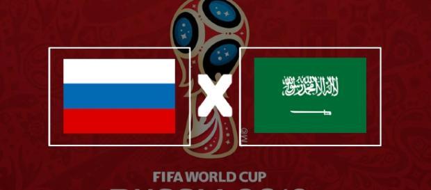 Rússia x Arábia Saudita ao vivo
