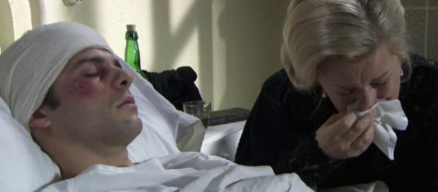 Una Vita: Simon ricoverato in gravi condizioni in ospedale.