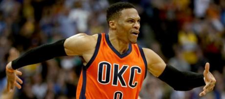 """Russell Westbrook is throwing a """"hype summer house party"""" in OKC on Saturday night (June 30). - [NBA / YouTube screencap]"""