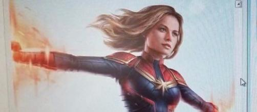 Captain Marvel in action. - [Emergency Awesome / YouTube screencap]