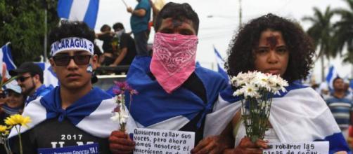 NICARAGUA / Al menos una persona fallecida y nueve heridas en medio de una manifestación